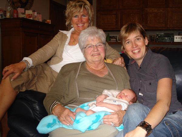 Het viergeslacht Suzanne, An, Sofie en Lotte