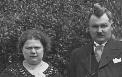 Theo en zijn vrouw Angelique Havet