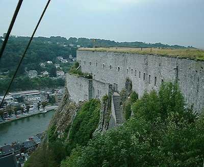 De citadel in Dinant