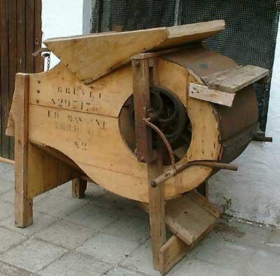 De wanmolen van de molen in Bierbeek