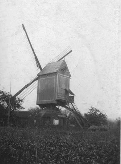 De windmolen op Bruul (Lovenjoel)