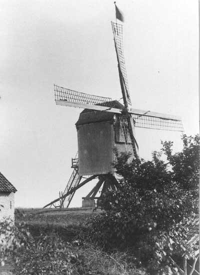 de molen op het gehucht Meren